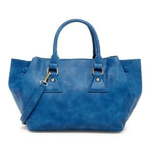 Pink Haley Rhiannon Tote in Blue